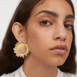 Sandra Mansour x H&M CONSCIOUS Gold Earrings SOLD!